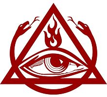 Order of the Triad logo red by vagata