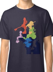Kingdom Hearts Stylized Cover Art Classic T-Shirt