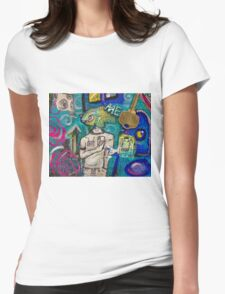 Emotion Ocean 2 Womens Fitted T-Shirt