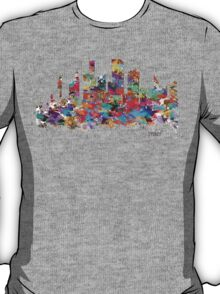 sydney skyline watercolor T-Shirt