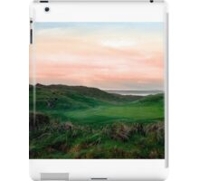 lush green Ballybunion links golf course iPad Case/Skin