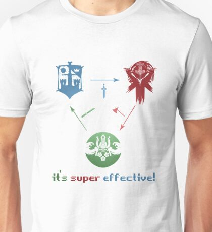 FOR HONOR - POKEMON - Super effective!!! Unisex T-Shirt