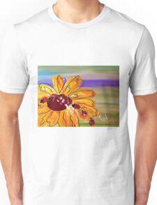 Ladybug Follow the Leader Unisex T-Shirt