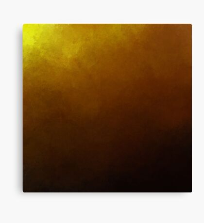 Gold sky Canvas Print