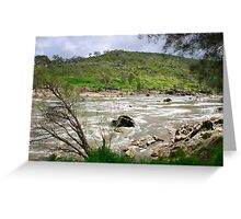 Rapid River Greeting Card