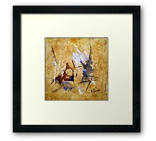 The Tongue Is Mightier Than The Sword Framed Print
