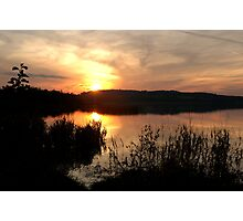 SUNSET IN CLARE Photographic Print
