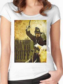 Talk about Civil War buff! Women's Fitted Scoop T-Shirt