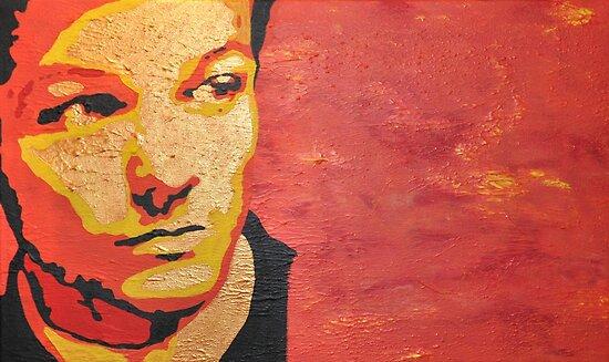 Louis Tomlinson Pop-Art Portrait by May92