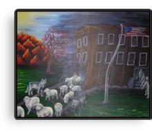 Like Sheep Canvas Print