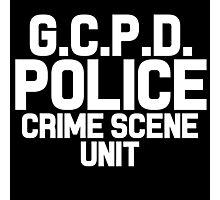 Gotham City Police Department - Batman Photographic Print