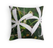 Treasures of the Everglades Throw Pillow