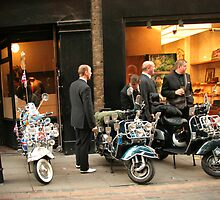 Mods in Covent Garden by AquaMarina