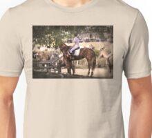 Horse Rider Awaiting Unisex T-Shirt