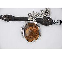 Elder Wand & Slytherin's Locket Photographic Print