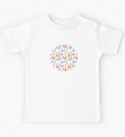 Bird Pattern Kids Tee