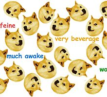 Internet Meme - Doge - Doge So Caffeine by TurtlesSoup