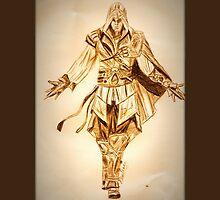 Assassin's Creed Ezio Auditore by NicoleJadeArt