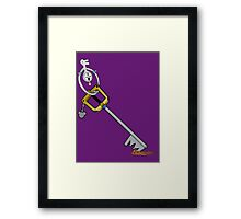 The Key is Mine Framed Print