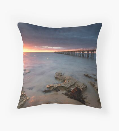 Point Lonsdale Dawn Throw Pillow