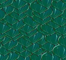 Experimental Dragon Scale Pattern by CiipherZer0