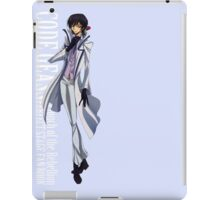 Code Geass Lelouch iPad Case/Skin
