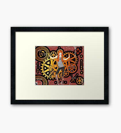 Big Wheel (10th Birthday) Framed Print