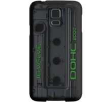 4g63 Valve Cover - Black and Green Samsung Galaxy Case/Skin