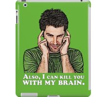 Shawn must use this power for good... iPad Case/Skin