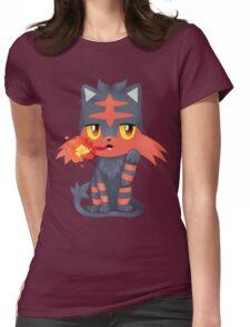 Litten Kitten Womens Fitted T-Shirt