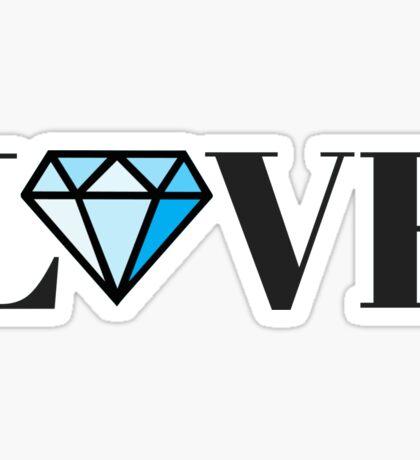 Diamond Love Sticker