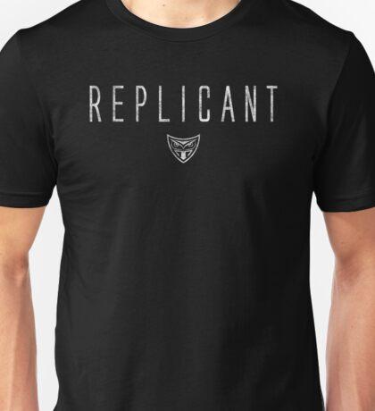 Blade Runner - Replicant - White Dirty Unisex T-Shirt