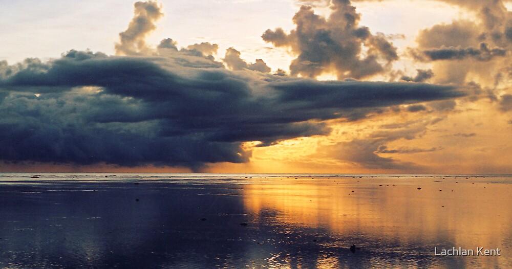 Stormy Sunset - Fiji by Lachlan Kent