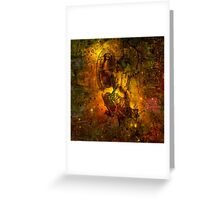 When The Stars Are Right - M78 In Orion Greeting Card