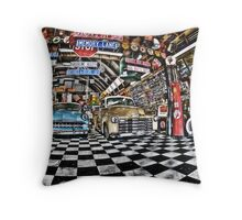 Memory Lane Throw Pillow