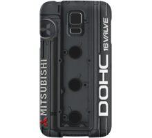 4g63 MITSUBISHI Valve Cover -Samsung -Black/White Samsung Galaxy Case/Skin
