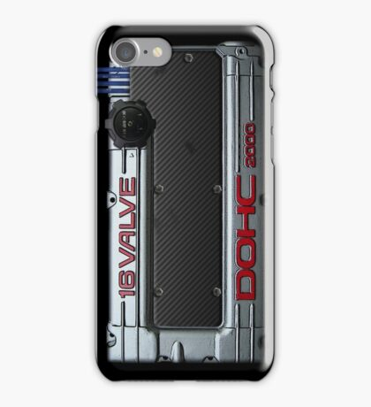 Mitsubishi Valve Cover 4G63 VERSION 2 (iPhone) iPhone Case/Skin