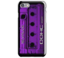 Mitsubishi Valve Cover 4G63 Purple (iPhone) iPhone Case/Skin