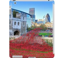 The Wave Tower of London Poppies iPad Case/Skin