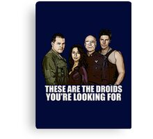 Simplified Cylon Spoilers Canvas Print