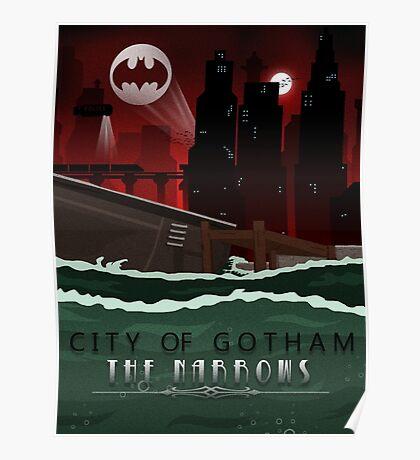 Gotham Narrows Poster/Print Poster