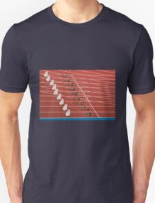 Starting Blocks Unisex T-Shirt