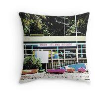 Hook Island, Whitsundays Throw Pillow