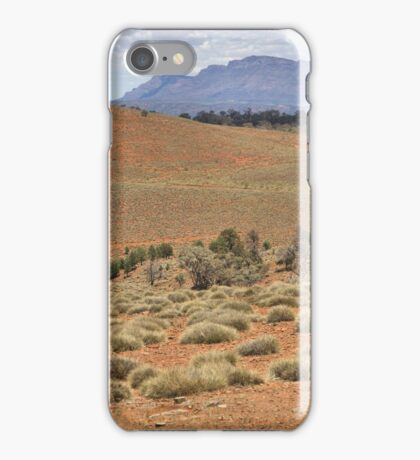 Wilpena Pound, Flinders Ranges in the Spring iPhone Case/Skin