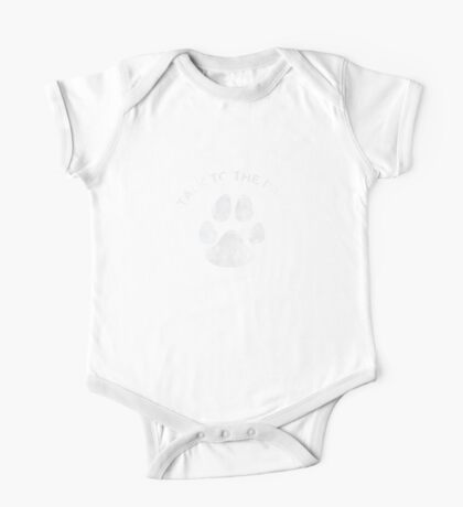 Funny Paw Humor  One Piece - Short Sleeve