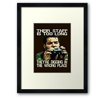 Raiders of the Lost Battlestar Framed Print