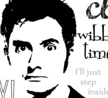 Tenth Doctor - on white Sticker