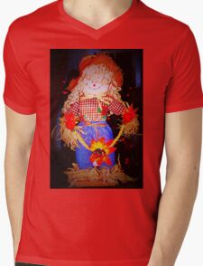 Scarecrow maiden Mens V-Neck T-Shirt