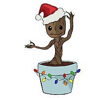 I Only Want Groot For Christmas Photographic Print