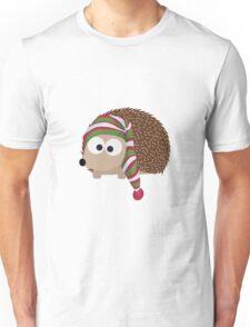 Winter cap Hedgehog Unisex T-Shirt